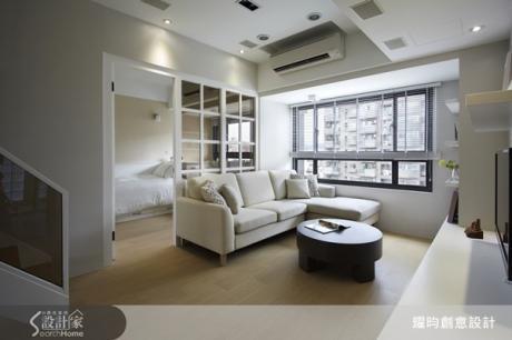 就想要這樣的夾層設計!20坪清爽無壓迫感的美式居家