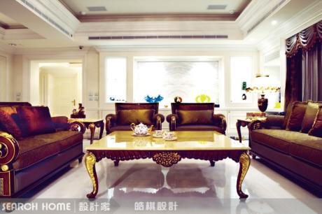 華麗古典空間與義大利巴洛克家具 品味大宅更顯質感
