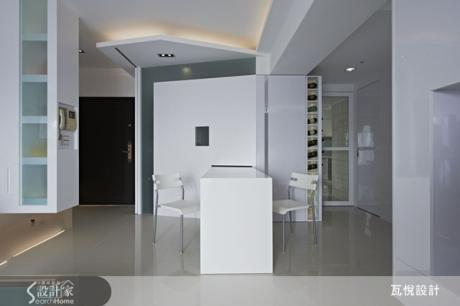 隱藏收納設計 把東西收得乾淨 讓雪白空間更潔淨!