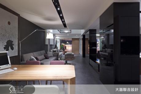 家具隨光影節奏躍動,長型街屋化身美麗商業空間~