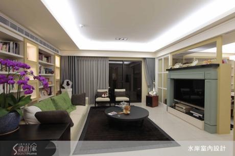 76坪美式休閒宅 完美透視生活層次