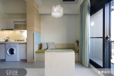 6坪小套房,廚房衛浴收納一應俱全!