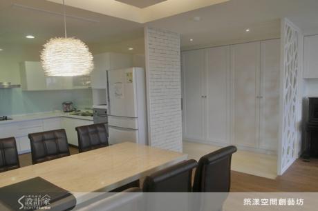 成熟又優雅的現代輕美式好宅