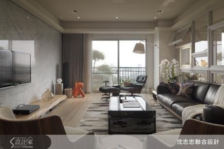 運用窗景,營造居家的時尚風情