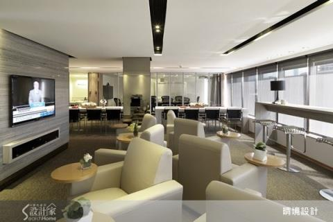 專業表現就從空間開始!300坪現代質感商空設計