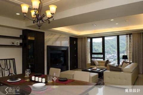 低調奢華大器感‧經典美式風格豪宅設計