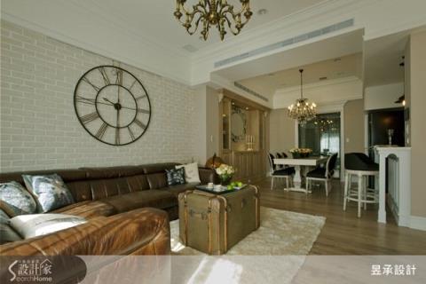 優雅大方的空間,營造經典的住宅美學