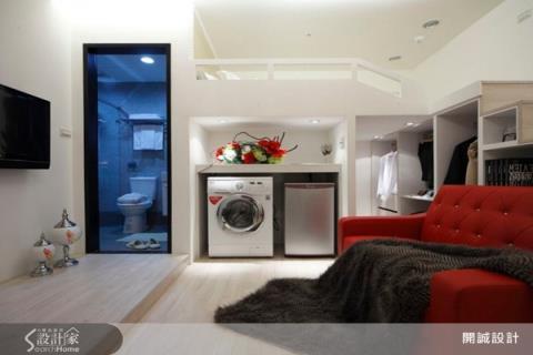 22坪擁有3房2廳! 完美機能美式宅
