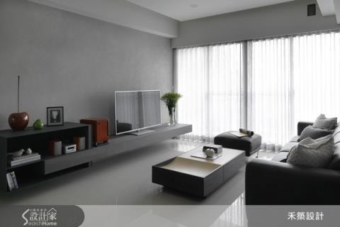 用材質放大空間的「現代簡約」療癒宅