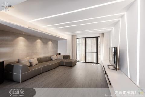 引入陽光,簡約設計創造寬敞舒適現代宅