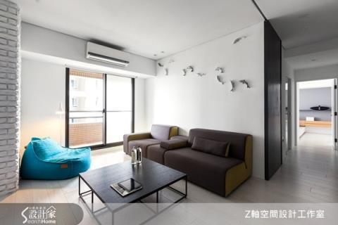 黑白灰三重奏,明亮清爽的現代風居家設計