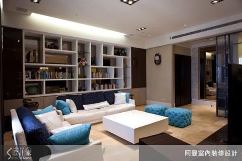 五房兩廳的「混搭」新美學,用色彩為生活增添趣味