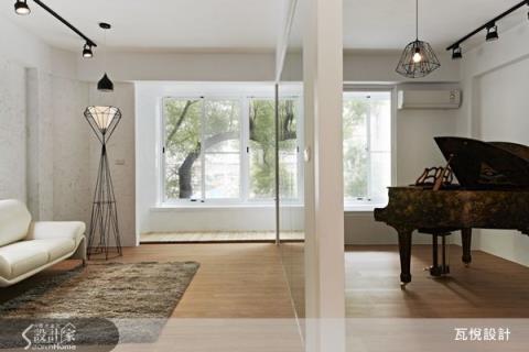 綠意與音樂完美結合的舒適人文宅