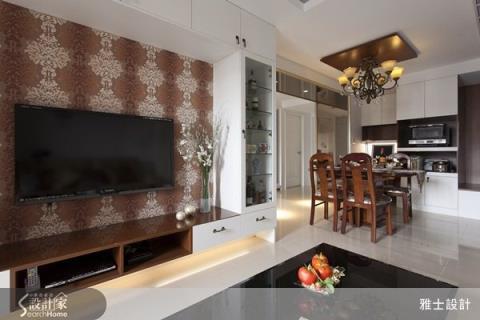 大膽玩出現代新古典的華麗感,4房2廳也能這麼美!