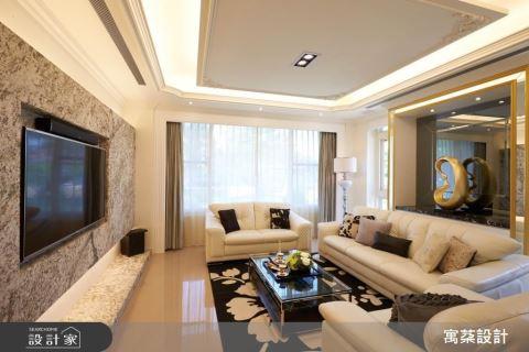善用建材搭配光源 營造200坪開闊空間