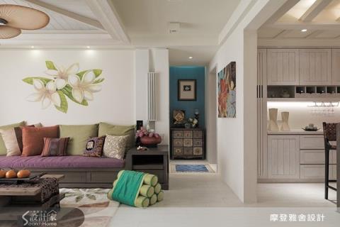 35坪老屋改造翻新7關鍵,實現峇里島禪鄉村的夢幻住宅!