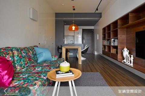 兩房一廳的混搭風美宅,實現成家的夢想