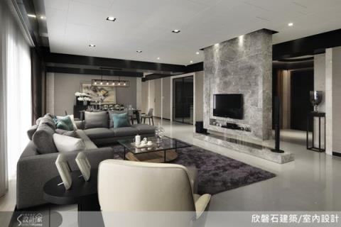 精品豪宅設計的美學概念,用建材提升居家空間質感