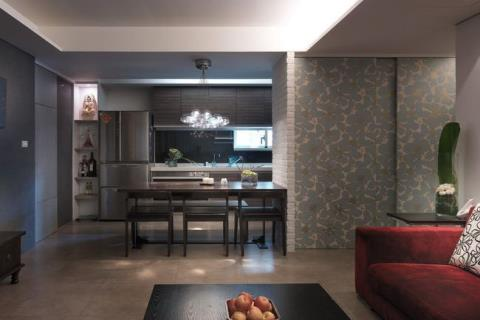 細膩設計串聯家具佈置, 6人同住 29坪簡鍊奢華品味空間