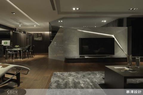 時尚品味優先,沉穩用色,開闊格局,打造低調奢華大宅
