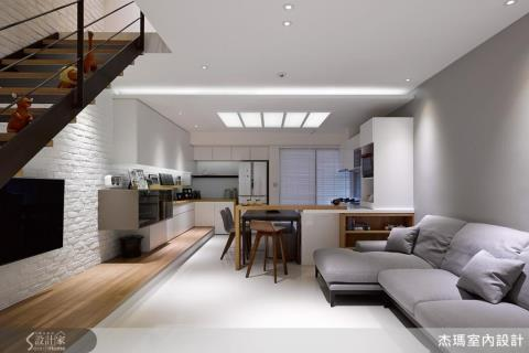12 坪樓中樓的北歐風空間,幸福承載一家人的美好住宅願想