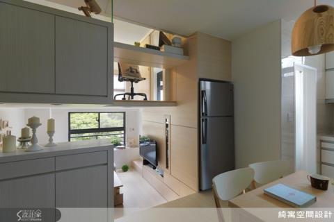 12坪小宅「夾」成大空間 2房2廳還有健身房