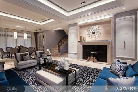 精品級的新古典風豪宅,打造奢華典雅的歐風居住殿堂
