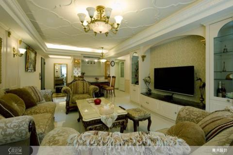 我家就有歐洲艷陽天!30 坪新古典宮廷風格居家設計