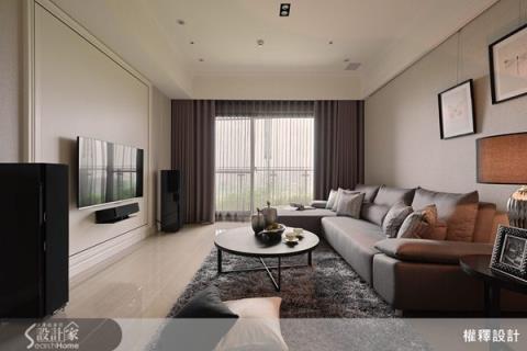 新古典 27 坪玩出大宅品味 3 房 2 廳+充裕收納