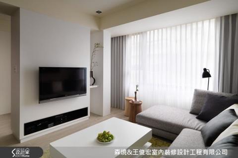 格局翻轉,讓室內變明亮,透過縝密設計,讓老屋質感倍增