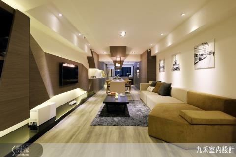 「大套房式」設計概念,建構 19 坪時尚潮空間