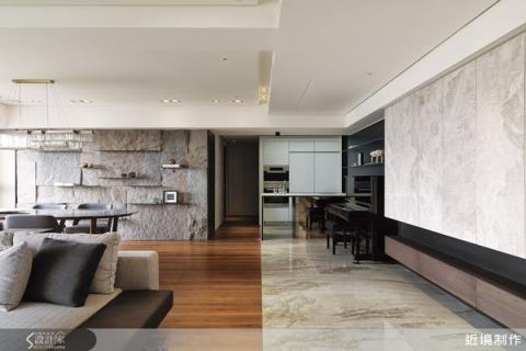 放大坪效,善用素材,打造現代感宅居