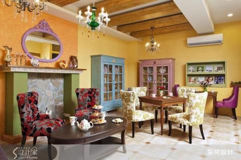 女孩們準備尖叫吧!滿溢鄉村風的午茶餐廳與 SPA 會館設計
