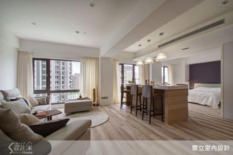 減法美學!打造遼闊寬敞的飯店客房風美宅