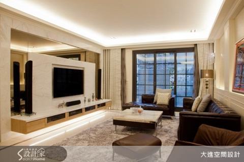 一家三口的甜蜜新古典美宅,還有絕美的更衣室空間!
