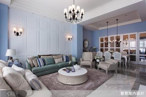 法式新古典的大宅設計,找尋異國情懷的療癒感