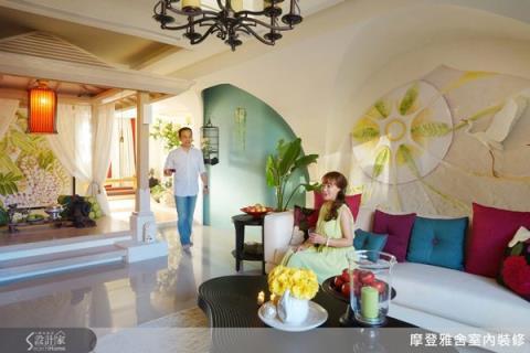 融合多元風格,讓大坪數私宅形同度假屋