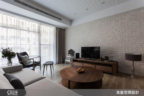 簡潔北歐加上日式禪風,就是最放鬆舒適的居家空間