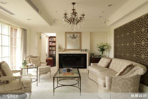 古典風格演繹巴黎居家美感,細膩東方元素更添優雅情調