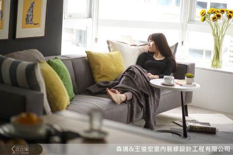 美形空間,讓頂客族夫妻感情增溫的自然設計