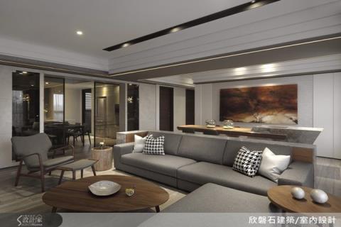 展現精緻宅邸的韻味內涵,休閒療癒的退休宅設計