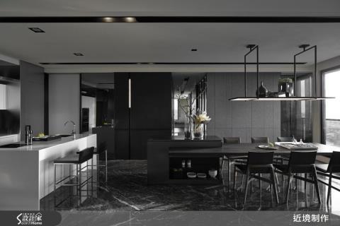 用室內建築手法,打造創意不羈的現代宅邸