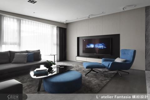36 坪擁有紐約電影般的派對大公寓