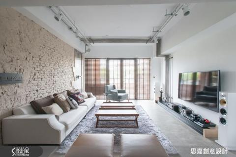 「我也是第一次當屋主!」55坪工業混搭居家x設計師自宅裝修經驗談