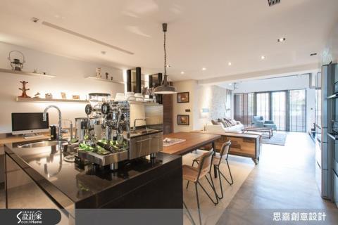 刪減多餘臥室,換來一座私宅咖啡 Bar !史上最超值的獨家空間增值術