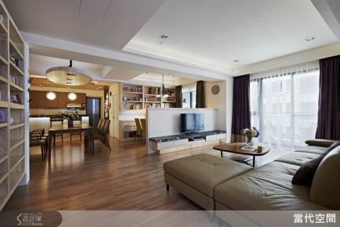 讓媽媽的愛溫暖家中每個角落!親子零距離的開放式居家設計