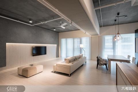 凝鍊40坪居家純粹原型,以設計重新定義生活的細膩感動