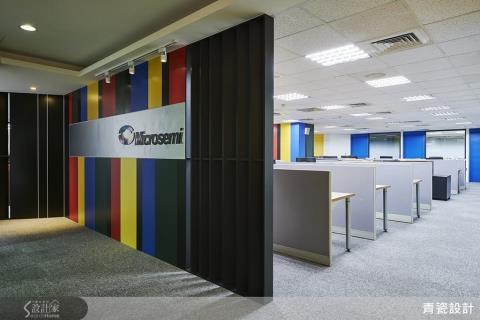 彩虹能量,讓科技辦公室充滿繽紛好心情!