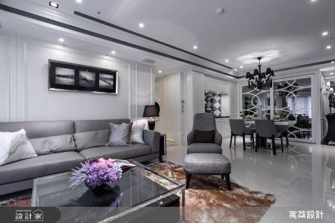 黑白時尚木色沉穩 放大小豪宅的暖感與品味