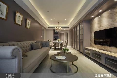 漫映30坪小雙拼  迷人高雅的輕美式寓邸
